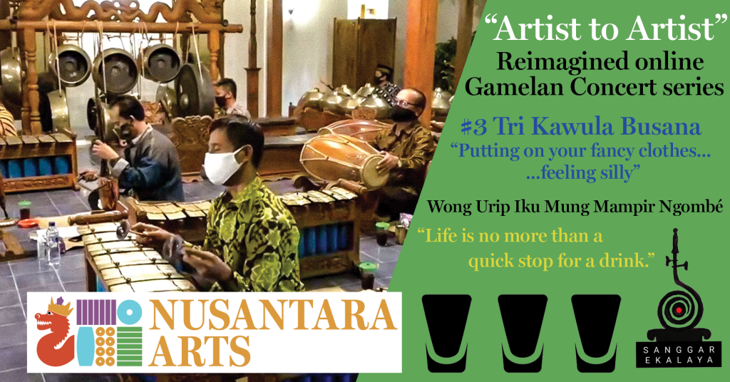 """Artist to Artist"" gamelan concert series"
